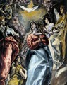 The Virgin of the Immaculate Conception (detail 1) 1608-13 - El Greco (Domenikos Theotokopoulos)