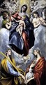 The Virgin and Child with St Martina and St Agnes 1597-99 - El Greco (Domenikos Theotokopoulos)
