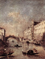 Rio dei Mendicanti 1780s - Francesco Guardi