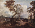 Landscape c. 1780 - Francesco Guardi