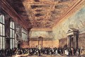 Audience Granted by the Doge 1766-70 - Francesco Guardi