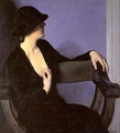 Study of a Woman in Black 1932 - Bernhard Gutmann