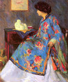 Lady in a Chinese Silk Jacket 1909 - Bernhard Gutmann
