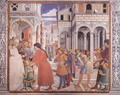 The School of Tagaste (scene 1, north wall) 1464-65 - Benozzo di Lese di Sandro Gozzoli