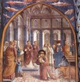 Scenes from the Life of St Francis (Scene 9, north wall) 1452 - Benozzo di Lese di Sandro Gozzoli