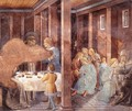 Scenes from the Life of St Francis (Scene 8, south wall) 1452 - Benozzo di Lese di Sandro Gozzoli