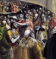 The Adoration of the Name of Jesus (detail 1) 1578-80 - El Greco (Domenikos Theotokopoulos)