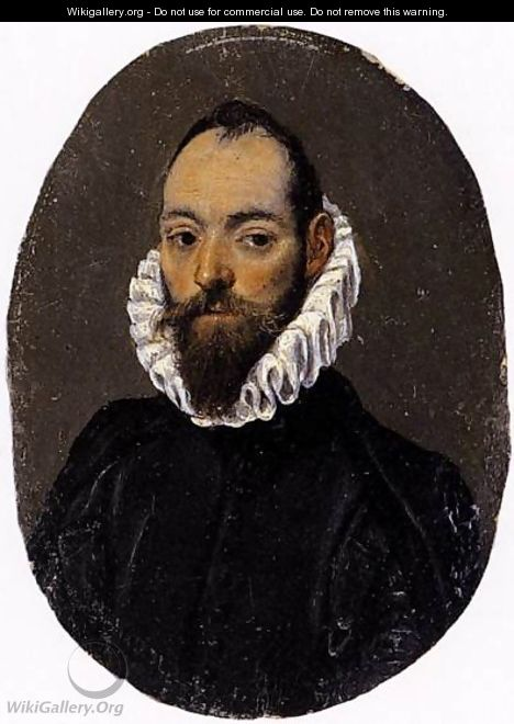Portrait of a Man 1586-90 - El Greco (Domenikos Theotokopoulos)