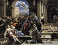 The Purification of the Temple c. 1570 - El Greco (Domenikos Theotokopoulos)