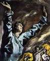 The Opening of the Fifth Seal (detail 1) 1608-14 - El Greco (Domenikos Theotokopoulos)