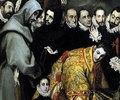 The Burial of the Count of Orgaz (detail 5) 1586-88 - El Greco (Domenikos Theotokopoulos)