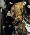 The Burial of the Count of Orgaz (detail 4) 1586-88 - El Greco (Domenikos Theotokopoulos)