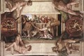 Sacrifice of Noah (with ignudi and medallions) 1509 - Michelangelo Buonarroti