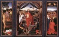 Triptych of the Resurrection c. 1490 - Hans Memling