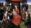 The Mystic Marriage of St Catherine 1479-80 - Hans Memling