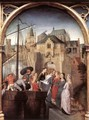 St Ursula Shrine- Arrival in Cologne (scene 1) 1489 - Hans Memling