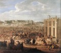 Construction of the Chateau de Versailles 1669 - Adam Frans van der Meulen