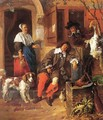 The Sleeping Sportsman 1657-59 - Gabriel Metsu