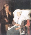 The Sick Girl 1658-59 - Gabriel Metsu