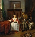 The Hunter's Gift 1658-60 - Gabriel Metsu