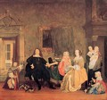 Burgomaster Gillis Valckenier and his Family 1675 - Gabriel Metsu