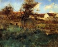 Landscape in Grez 1884 - Willard Leroy Metcalf