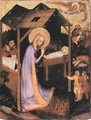 The Adoration of Jesus 1380 - Master of the Trebon Altarpiece