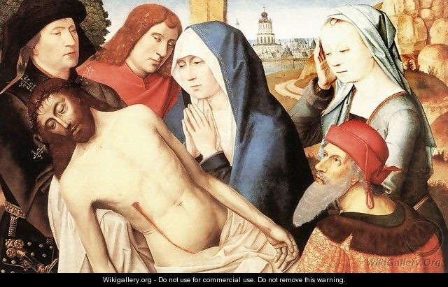 Lamentation 1490s - Master of the Saint Lucy Legend