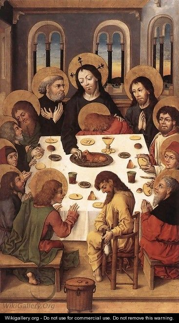 The Last Supper - Master of the Housebook