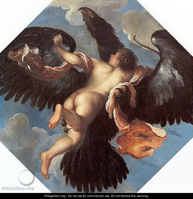 The Rape of Ganymede 1575 - Damiano Mazza