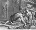Samson and Delilah c. 1613 - Jacob Matham