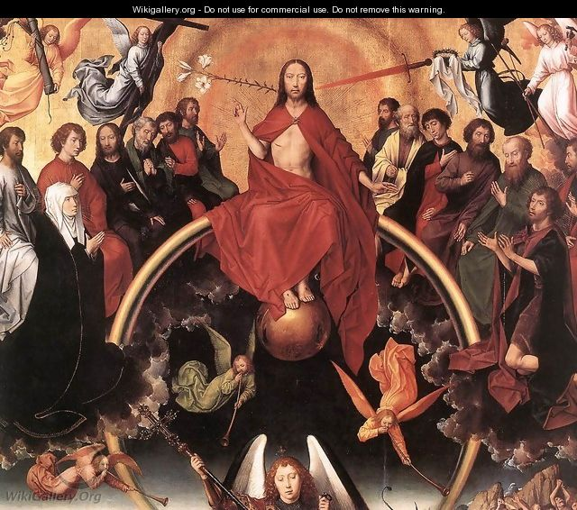 Last Judgment Triptych (detail-3) 1467-71 - Hans Memling
