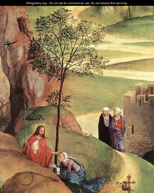 Advent and Triumph of Christ (detail-2) 1480 - Hans Memling