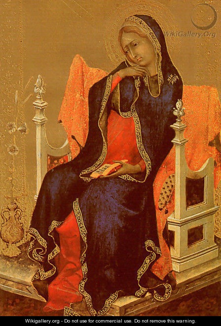 The Virgin of the Annunciation 1339 - Simone Martini
