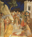 The Miracle of the Resurrected Child 1321 - Simone Martini