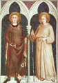 St. Louis of France and St. Louis of Toulouse 1321 - Simone Martini