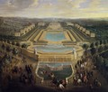 View of the Chateau of Marly 1725 - Pierre-Denis Martin