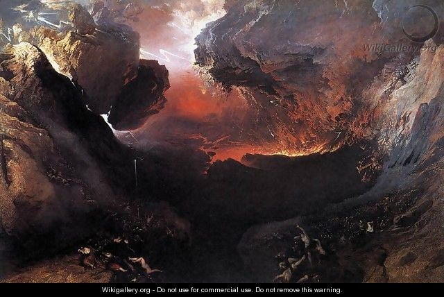Great Day of His Wrath 1851-53 - John Martin