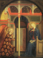 The Annunciation 1425-30 - Tommaso Masolino (da Panicale)
