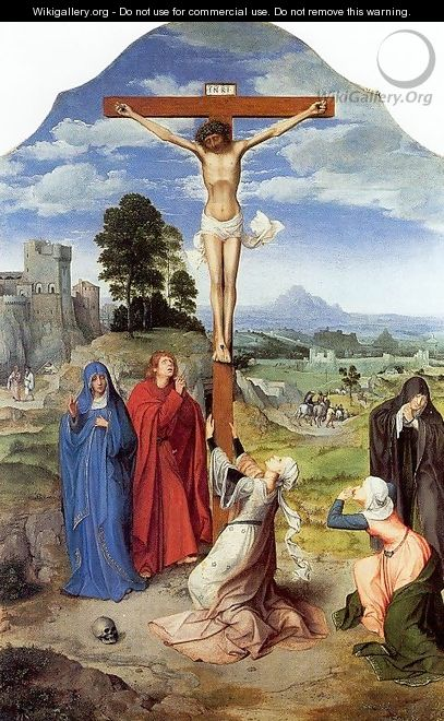 The Crucifixion After 1515 - Workshop of Quentin Massys