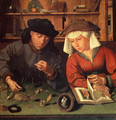 The Moneylender and his Wife 1514 - Quinten Metsys