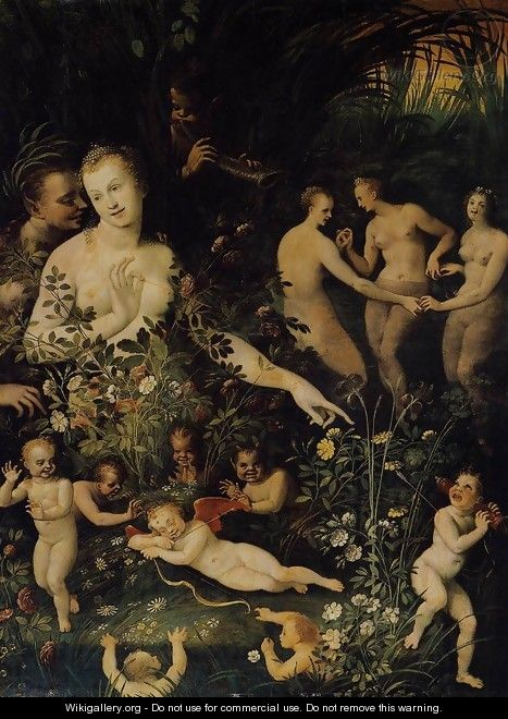 Mythological Allegory c. 1580 - Anonymous Artist