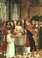 The Baptism of Clovis 1500 - Master of St. Gilles