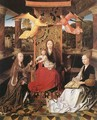 Madonna and Child with Sts Catherine and Barbara - Master of Hoogstraeten
