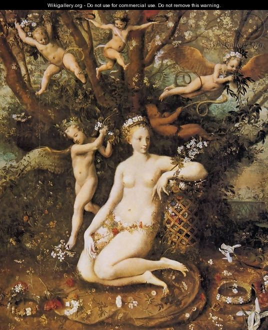 The Triumph of Flora c. 1560 - Master of Flora
