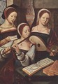Concert of Women 1530-40 - Master of Female Half-Figures
