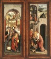 Scenes from the Life of Joachim and Anna c. 1500 - Master of Alkmaar