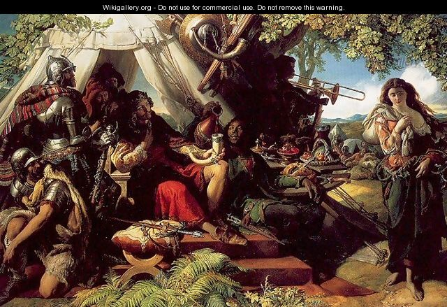 King Cophetua and the Beggarmaid - Daniel Maclise