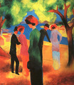 Woman in a Green Jacket 1913 - August Macke
