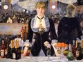 The Bar at the Folies Bergere 1882 - Edouard Manet